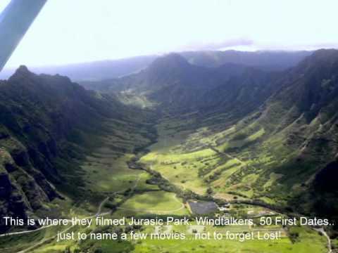 Oahu Circle Island Air Flight w/Jordan