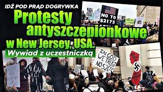 Protesty antyszczepionkowe w New Jersey, USA. Wywiad z uczestniczką. SERWIS INFORMACYJNY 2020.01.16