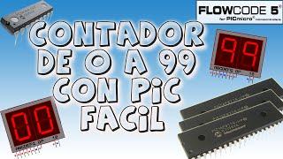 Video Contador de 0 a 99 con PIC Fácil | Flowcode (sin saber programar) #6 download MP3, 3GP, MP4, WEBM, AVI, FLV Juli 2018