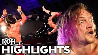 Alex Zayne STUNS Bandido in ROH Debut! | ROH Highlights Feb 14, 2020