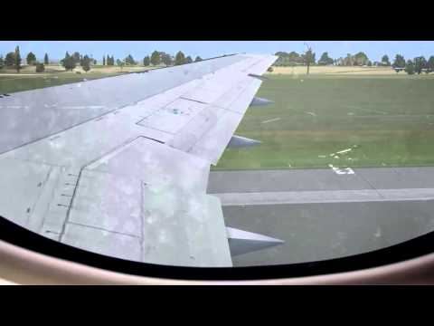 FSX - 767 Takeoff @Grantley Adams Intl TBPB