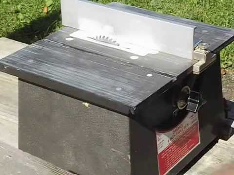 Dremel 4 Inch Table Saw From Estate Sale Test Youtube