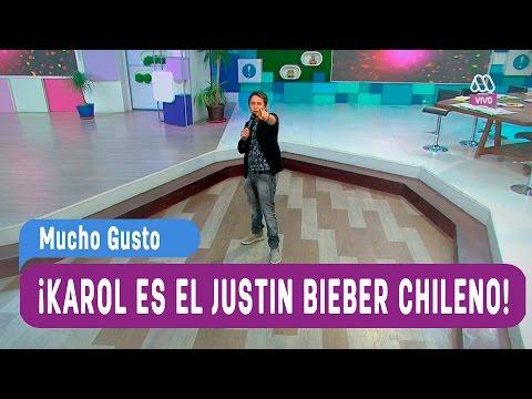 Karol es nuestro Justin Bieber Chileno - Mucho Gusto 2016