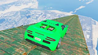HIGHEST RAMP EVER! (GTA 5 Funny Moments)