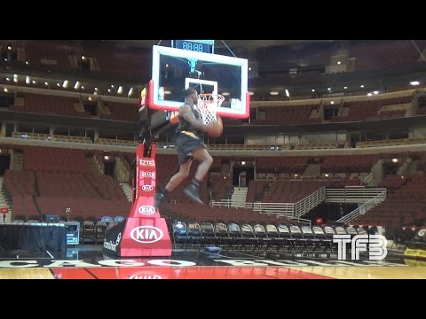 SICK DUNKS! Doug Anderson JUMPS out the GYM   Uncut Footage