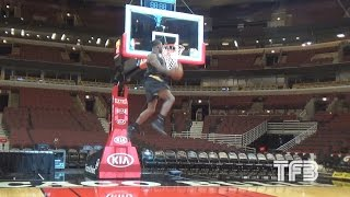 SICK DUNKS! Doug Anderson JUMPS out the GYM | Uncut Footage Video