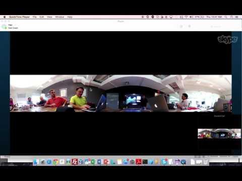 Skype V360 Conf Call