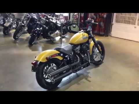 2019 harley davidson fxbb street bob youtube. Black Bedroom Furniture Sets. Home Design Ideas