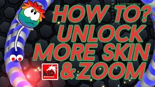 How To Use SLITHER.IO Skins Like TARGET/PUMBAR Etc. [Slither io Mods, Zoom,Skins]