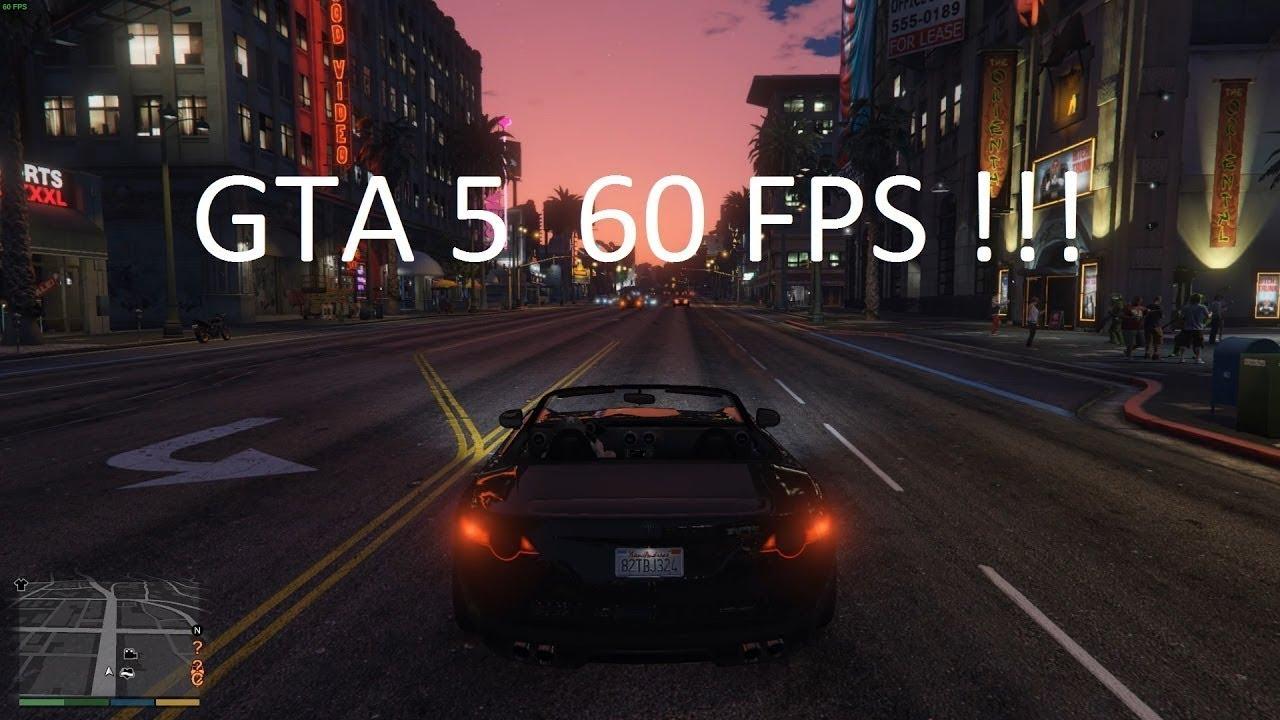 GTA 5 FPS Arttırma Modu  / +60 FPS
