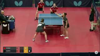 Воронина и Заварыкина vs A. Bondareva/F. Schreiner (GER) | Spanish J&C Open 2019