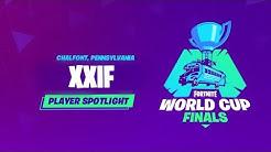 Fortnite World Cup - Player Profile - XXIF