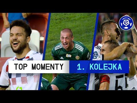 TOP MOMENTY 1. Kolejki | Ekstraklasa | 2020/21 [Komentarz]