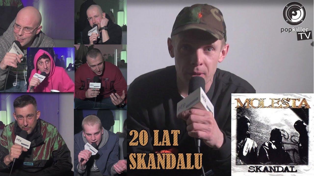 """20 LAT """"SKANDALU"""" MOLESTY – wspominają Włodi, Sokół, Pono, Fu, Kosi, Ras… (Popkiller.pl)"""