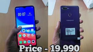 Oppo F9 Unboxing And Review