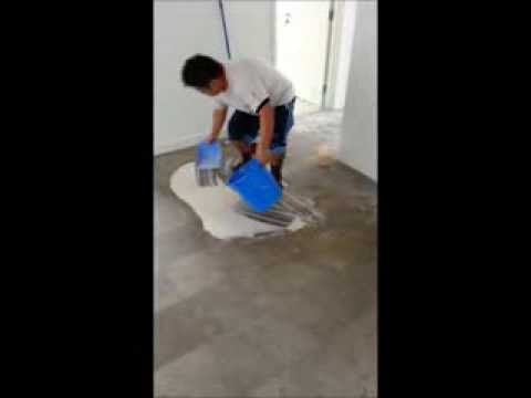 How we polishing the marble floor