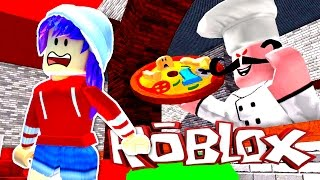 ROBLOX LET'S PLAY ESCAPE THE PIZZARIA OBBY | HUMAN PIZZA! | RADIOJH GAMES