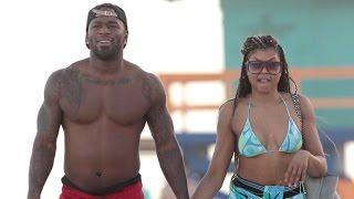 Taraji P. Henson Flaunts Killer Bikini Bod, Holds Hands With NFL Star Kelvin Hayden