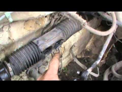 Замена пыльника рулевой рейки ВАЗ не снимая рейки