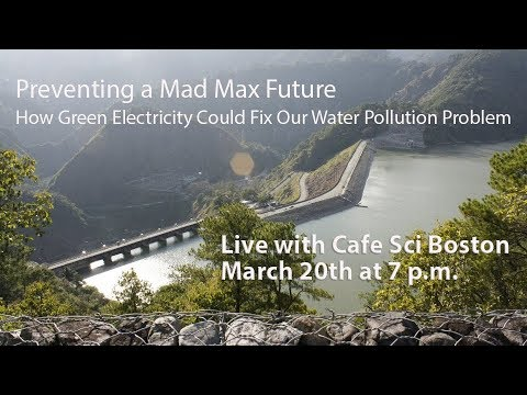 Green Electricity as a Fix to our Water Pollution Problem