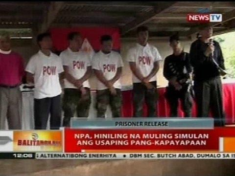 BT: Apat Na Pulis Na Binihag Ng NPA, Pinalaya Na