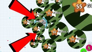 Agar.io Solo Turnaround Epic Take Over Pro Dominating Agar.io Mobile Gameplay