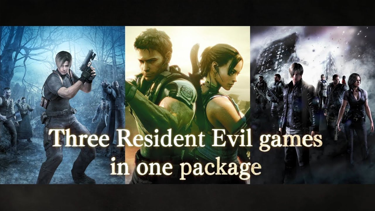 Resident Evil Triple Pack Gets A Zombie Riffic New Trailer