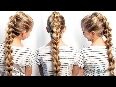 3D Pull Through Braid | Long Hairstyles | Pretty Hair is Fun