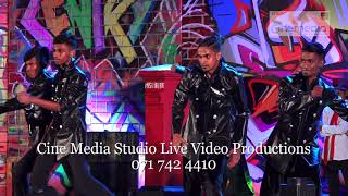 Sri lankan Hip Hop Dance Event 3 Camera Live Video Recording By Cine Media