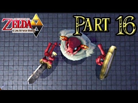 The Legend of Zelda: A Link Between Worlds - Part 16: Thieves' Hideout   Defeating Boss Stalbind!