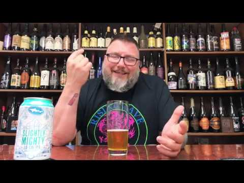 Massive Beer Review 2095 Dogfish Head Brewing Slightly Mighty Low-Calorie Low-Carb Monk Fruit IPA