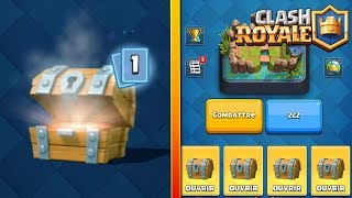 clash Royal EPIC PACK OPENING of legendary SUPER magical trunk and wood