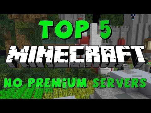 TOP 5 NO PREMIUM MINECRAFT SERVERS! 1.7/1.8/1.9/1.10/1.12.2 [HD] (New HUGE Minecraft Servers)