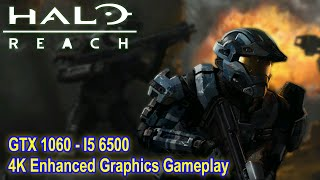 Halo Reach (PC) | 4K Enhanced Gameplay | GTX 1060, i5-6500 (Master Chief Collection)