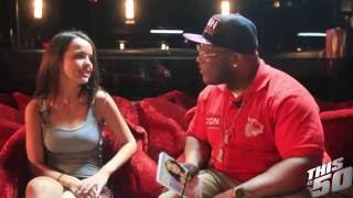 Dillion Harper Twerks; Talks Best Feature; Doing Adult Films