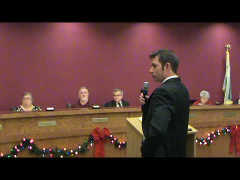 Public Hearing for Text Amendment & Solar Panels Village of Hainesville Board Meeting 12-5-17 Part 1