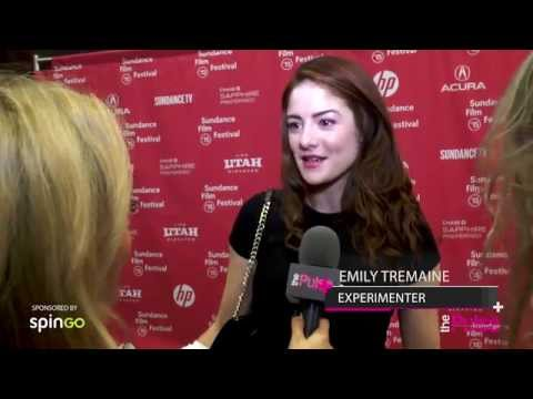 The Pulse Interviews Emily Tremaine for the Premiere of Experimenter