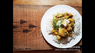 A DELICIOUS VEGAN CURRY -  CAULIFLOWER CORN -  LOW FAT YUMMINESS | Connie's RAWsome kitchen