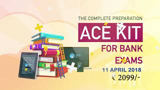 Get The Complete Preparation ACE Kit for Banking Exams