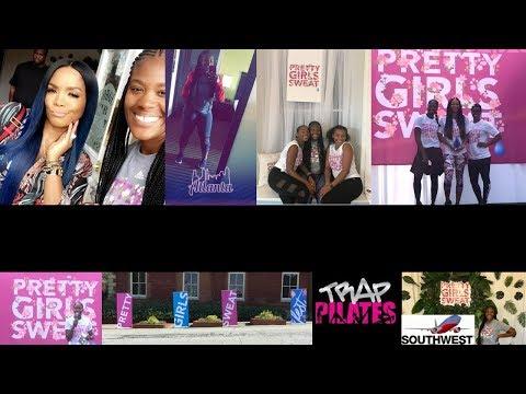 Vlog #2 | Atlanta, Pretty Girls Sweat Fest 2017, Trap Pilates, Keri Hilson