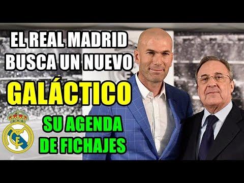 EL REAL MADRID BUSCA UN NUEVO FICHAJE GALÁCTICO: SU AGENDA DE FICHAJES PARA LA 2018/2019 thumbnail