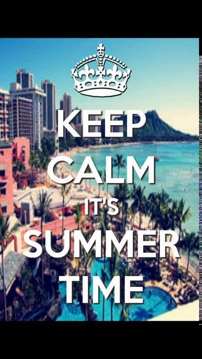 #Keep Calm And Enjoy Summer!!