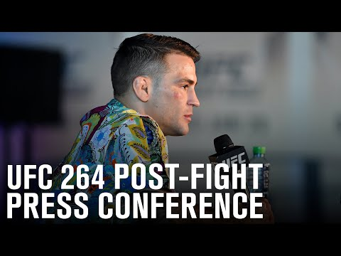 UFC 264: Post-fight Press Conference