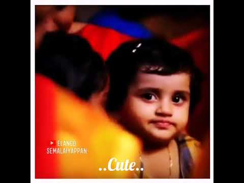 Cute Funny Baby Whatsapp Status Videocute Baby Whatsapp Statuschellakutty Una Kaana Status