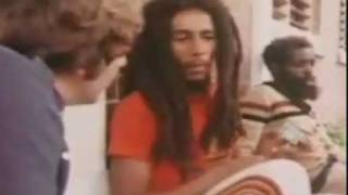 Bob Marley interview on Marijuana (Trench Town Kingston, Jamaica)