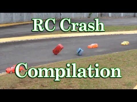 RC Car Crash Compilation [Crashes, Contacts, Broken Parts and more] @ Titiwangsa RC Track