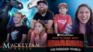 HOW TO TRAIN YOUR DRAGON: THE HIDDEN WORLD | Official Trailer 2- REACTION and REVIEW!!!