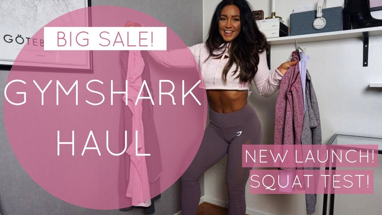 a0d55b63dc2fa GYMSHARK HAUL & SALE - NEWS & BLACK FRIDAY WEEK - YouTube