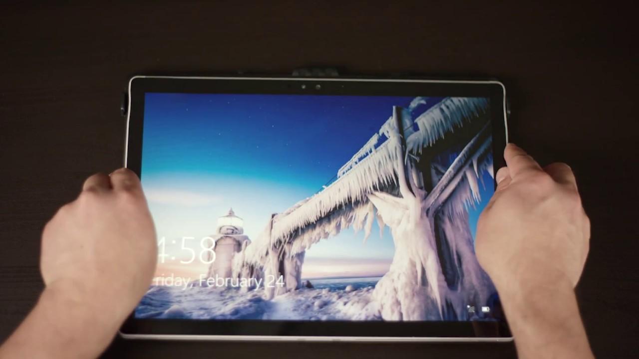 bfe5c9bbb89 Microsoft SurfaceBook Case UAG Case Installation Guide - YouTube