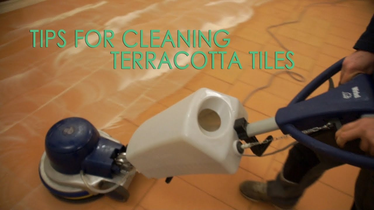 How To Clean Terracotta Floor Tile Youtube